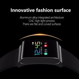 Smartwatch Sporty Fitness Tracker Android iOS Strap Silicone - X9 Pro - Black - 4