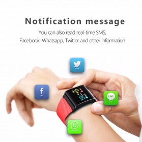 Smartwatch Sporty Fitness Tracker Android iOS Strap Silicone - X9 Pro - Black - 5