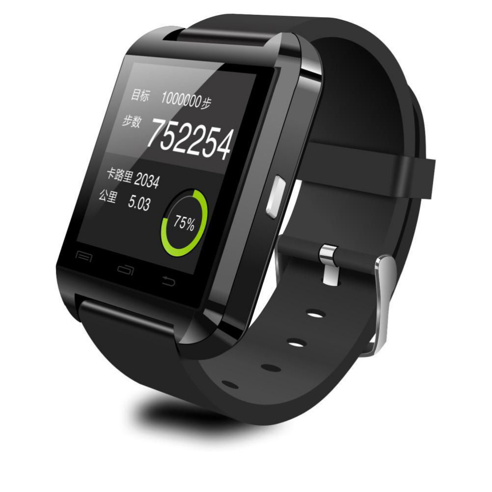 U8 Smartwatch For Ios And Android Black