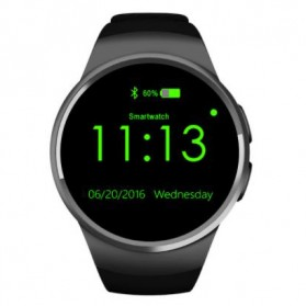 Kingwear Smartwatch Bluetooth for IOS and Android - KW18 (backup) - Black