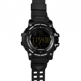 XWatch Smartwatch Olahraga Waterproof - Black