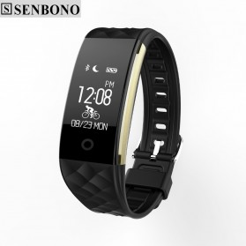 Senbono S2 Sport Smartwatch Waterproof IP67 - Black
