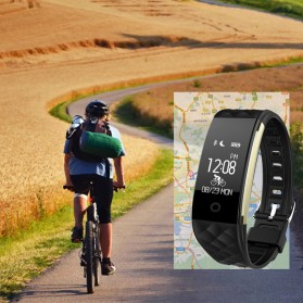 Senbono S2 Sport Smartwatch Waterproof IP67 - Black - 6