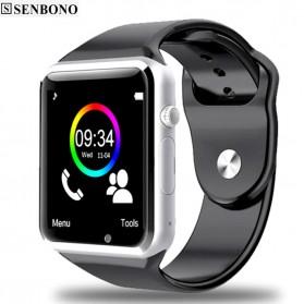 Senbono Smartwatch Elegan - A1 - Black - 3