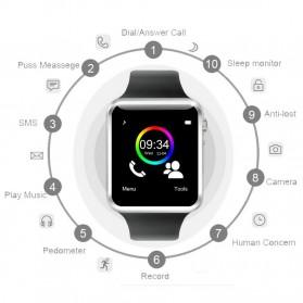 Senbono Smartwatch Elegan - A1 - Black - 4