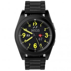 SENBONO Smartwatch Sporty Elegan - G6 - Black