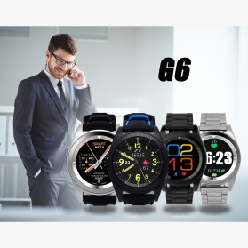 SENBONO Smartwatch Sporty Elegan - G6 - Black - 4