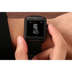 LEMFO Bluetooth Smartwatch Sporty IOS Android Phone - LF07 - Black - 4