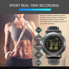 JeiSo Smartwatch Jam Tangan Fitness Tracker Pedometer Calorie - WQ-685-GL - Black - 5