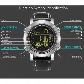 JeiSo Smartwatch Jam Tangan Fitness Tracker Pedometer Calorie - WQ-685-GL - Black - 9