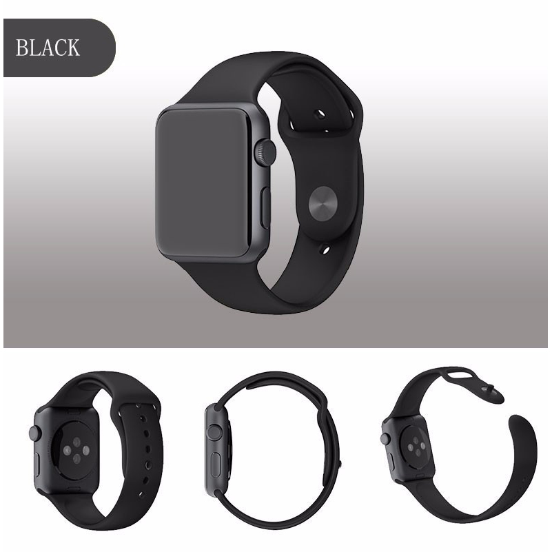 Band Silikon Untuk Apple Watch 42mm Series 1 2 3
