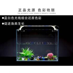 Quanlong Lampu Akuarium LED Light Extendable Bracket 42cm - QL-L350 - White - 5