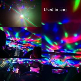 Magic Ball Lampu LED RGB USB Atmospere DJ Light Sound Control -  HS-WT-006 - Green - 6