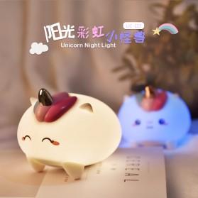 OUYOR Lampu Tidur LED RGB Light Model Unicorn - LJC-125 - White - 6