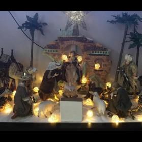 Lampu Hias Dekorasi Bola Rotan String Fairy 1.2 Meter 10 LED - B073 - Warm White - 4