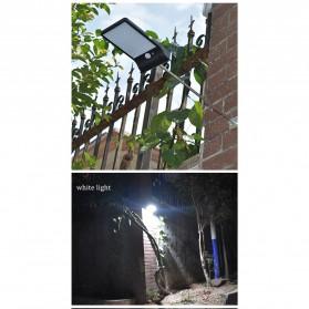 Alloet Lampu Solar Outdoor 48 LED 7 Color Temperature +Remote 2700-6000K - 1501B - Black - 3