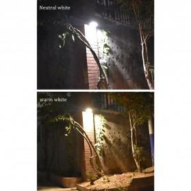 Alloet Lampu Solar Outdoor 48 LED 7 Color Temperature +Remote 2700-6000K - 1501B - Black - 7