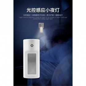 Lampu Tidur LED Dinding Induction Healthy Eye - L803B - White