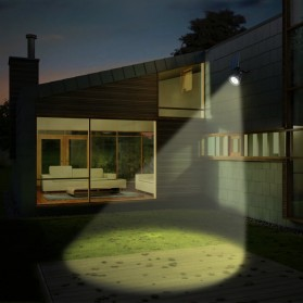 Hyelaer Lampu Taman Energi Solar Panel 4 LED - TS-G0102 - Black - 8