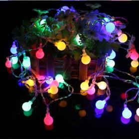 MUQGEW Lampu Hias Sperical Light String Portable RGB 100 LED 10M - ZYD0931 - Mix Color - 3