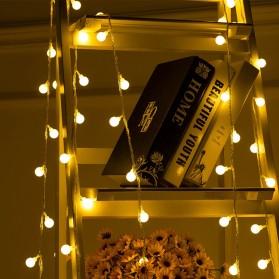 MUQGEW Lampu Hias Sperical Light String Portable RGB 100 LED 10M - ZYD0931 - Mix Color - 4