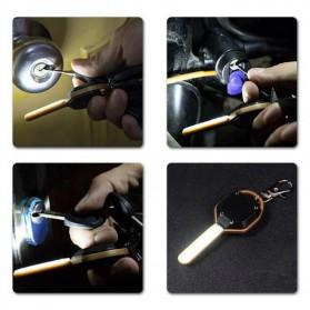 KissTheNight Lampu LED COB Mini Bentuk Kunci Mobil - 158 - Golden - 10
