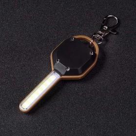 KissTheNight Lampu LED COB Mini Bentuk Kunci Mobil - 158 - Golden - 2