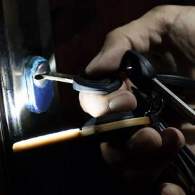 KissTheNight Lampu LED COB Mini Bentuk Kunci Mobil - 158 - Golden - 3