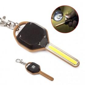 KissTheNight Lampu LED COB Mini Bentuk Kunci Mobil - 158 - Golden - 5