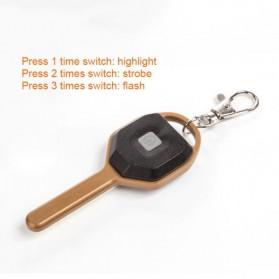 KissTheNight Lampu LED COB Mini Bentuk Kunci Mobil - 158 - Golden - 7