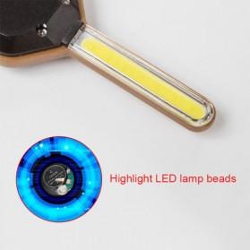 KissTheNight Lampu LED COB Mini Bentuk Kunci Mobil - 158 - Golden - 8
