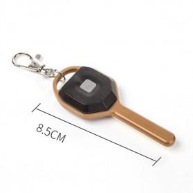 KissTheNight Lampu LED COB Mini Bentuk Kunci Mobil - 158 - Golden - 9