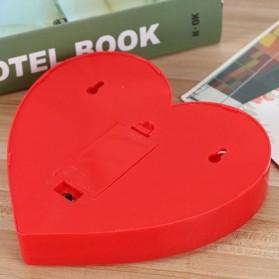 Hapeisy Lampu Dekorasi Marquee LED 3D Romantic Model Heart - M10 - Red - 2