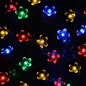YUSHILED Lampu Hias Dekorasi 50 LED 7 Meter with Solar Panel - M072 - Mix Color - 3