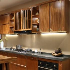 HOMELIFE Lampu LED Sensor Deteksi Cahaya Under Cabinet Aricle Light - D0272W - Warm White - 6