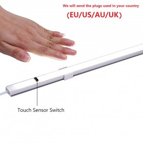 HOMELIFE Lampu LED Sensor Deteksi Cahaya Under Cabinet Aricle Light - D0272W - Warm White - 7