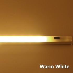 HOMELIFE Lampu LED Sensor Deteksi Cahaya Under Cabinet Aricle Light - D0272W - Warm White - 8