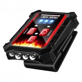 Albinaly Senter Topi LED Clip Headlamp - TG-M003 - Black
