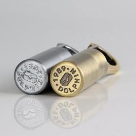 Aolikes Gantungan Kunci Korek Api Dolphin Lighter Waterproof - HY665 - Silver - 3
