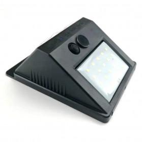 ZOLAR Lampu Solar Sensor Gerak Outdoor Weatherproof 20 LED - L21 - Black