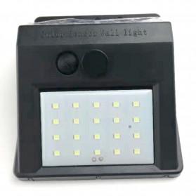 ZOLAR Lampu Solar Sensor Gerak Outdoor Weatherproof 20 LED - L21 - Black - 2