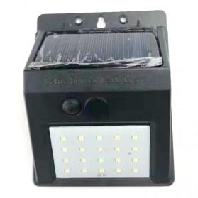 ZOLAR Lampu Solar Sensor Gerak Outdoor Weatherproof 20 LED - L21 - Black - 4