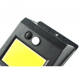 ZOLAR Lampu Solar Sensor Gerak Outdoor Weatherproof 48 LED - L22 - Black - 4