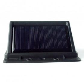 ZOLAR Lampu Solar Sensor Gerak Outdoor Weatherproof 48 LED - L22 - Black - 5