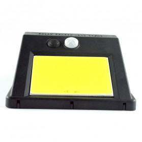 ZOLAR Lampu Solar Sensor Gerak Outdoor Weatherproof 48 LED - L22 - Black - 7