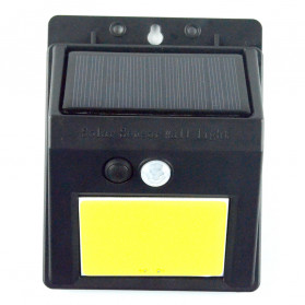 ZOLAR Lampu Solar Sensor Gerak Outdoor Weatherproof 48 LED - L22 - Black - 8