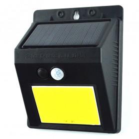 ZOLAR Lampu Solar Sensor Gerak Outdoor Weatherproof 48 LED - L22 - Black - 9