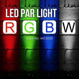 Illumsolid Proyektor LED Lampu Disco Stage Konser RGBW DMX - KD-12 - Multi-Color - 4