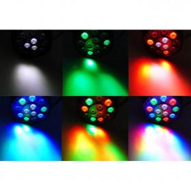 Illumsolid Proyektor LED Lampu Disco Stage Konser RGBW DMX - KD-12 - Multi-Color - 6
