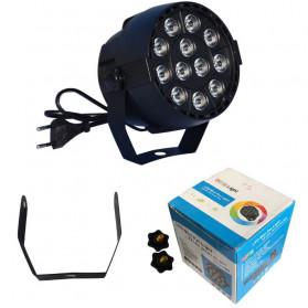 Illumsolid Proyektor LED Lampu Disco Stage Konser RGBW DMX - KD-12 - Multi-Color - 8